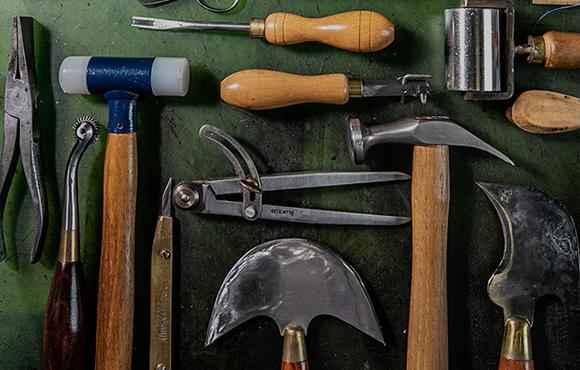 拘り抜いた道具